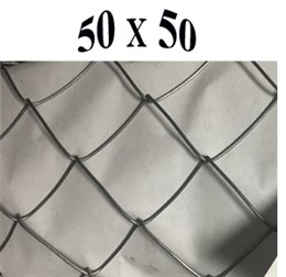 Сетка-рабица  50*50*1,6 (1,5*10) оц Б Рулон