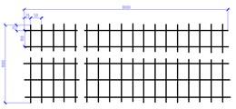 Сетка оцинкованная 2,5х1000х3000  (100х50) ШТ