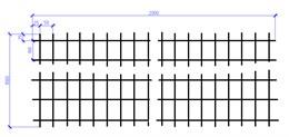 Сетка оцинкованная 4х1000х2000  (100х50) ШТ