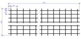 Сетка оцинкованная 4х1000х2000  (50х100) ШТ