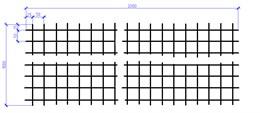 Сетка оцинкованная 4х1000х2000  (50х50) ШТ