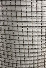 Сетка тканая  14х14х2,0мм (Н-1м) нерж. сложнорифленая П.М.