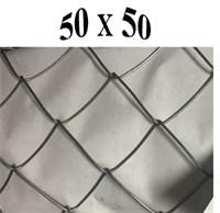Сетка-рабица  50*50*1,6 (1,2*10) оц , Рулон